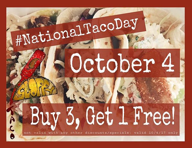 #nationaltacoday #sloppytaco #thesloppytaco #tacos4life