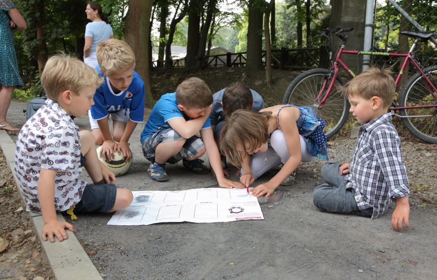 KINDERPARCOURS DE ZEVENHOEKIGE STAD — SCHERPENHEUVEL