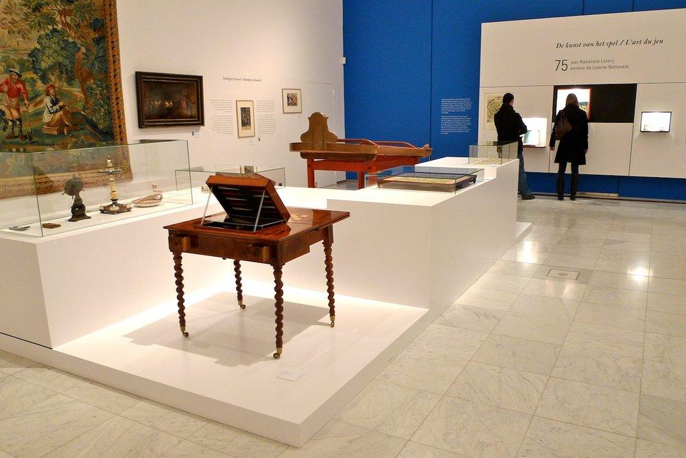 TENTOONSTELLING DE KUNST VAN HET SPEL — KONINKLIJK MUSEUM VOOR SCHONE KUNSTEN BRUSSEL