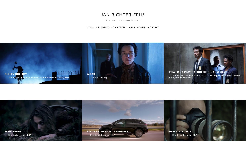 About Contact Jan Richter Friis