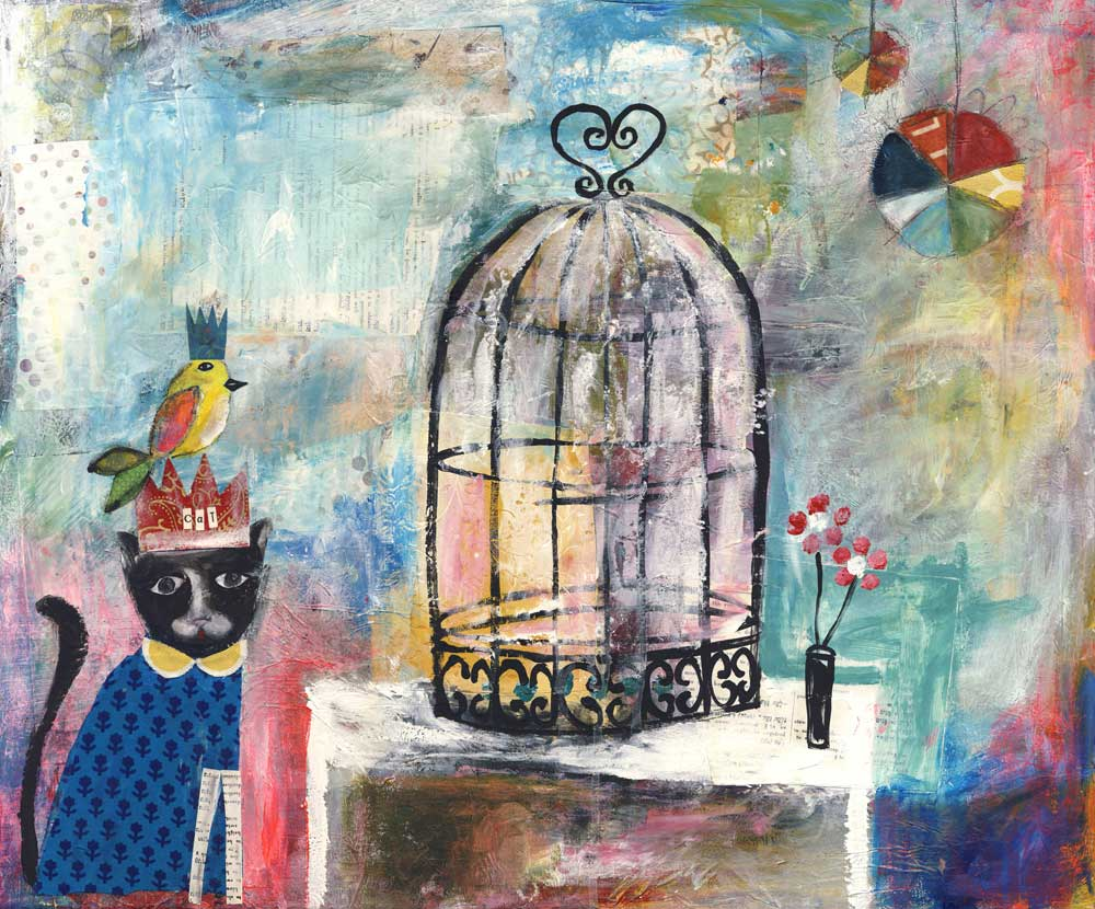 Cat and Canary - SOLD
