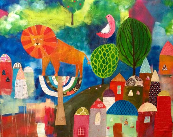 Lion in Zion - SOLD