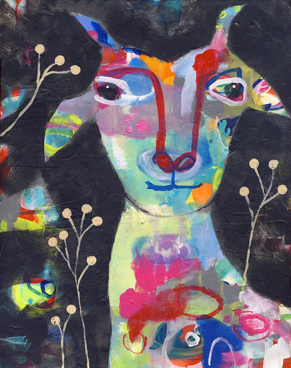 Goat Portrait - SOLD
