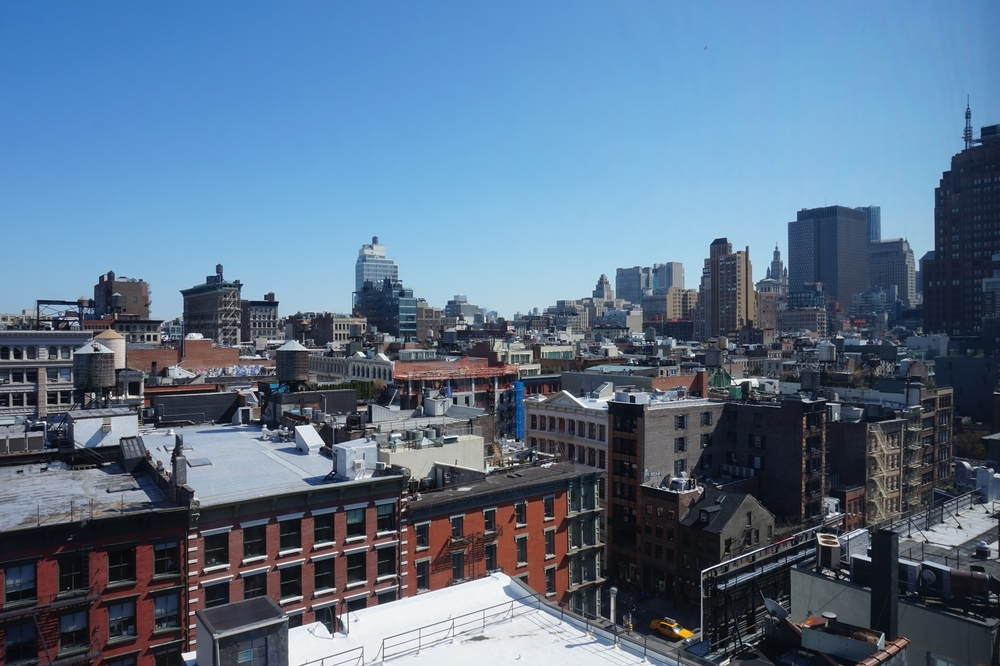 View from a Sixty SoHo Hotel Suite