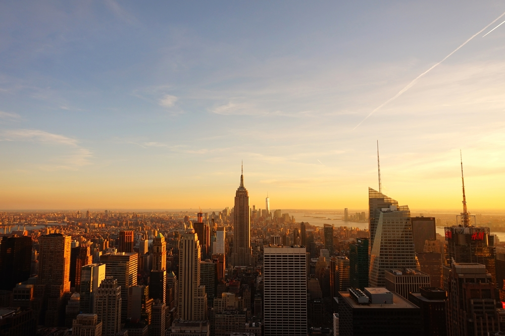 View from the Rockefeller Center