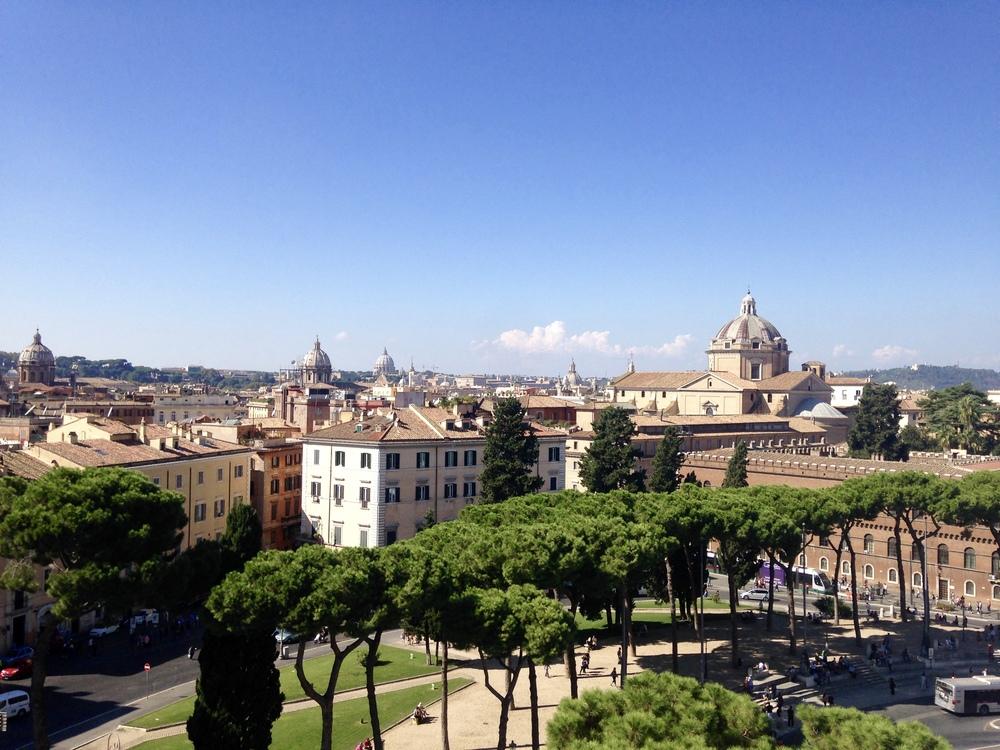 View from the Altare della Patria