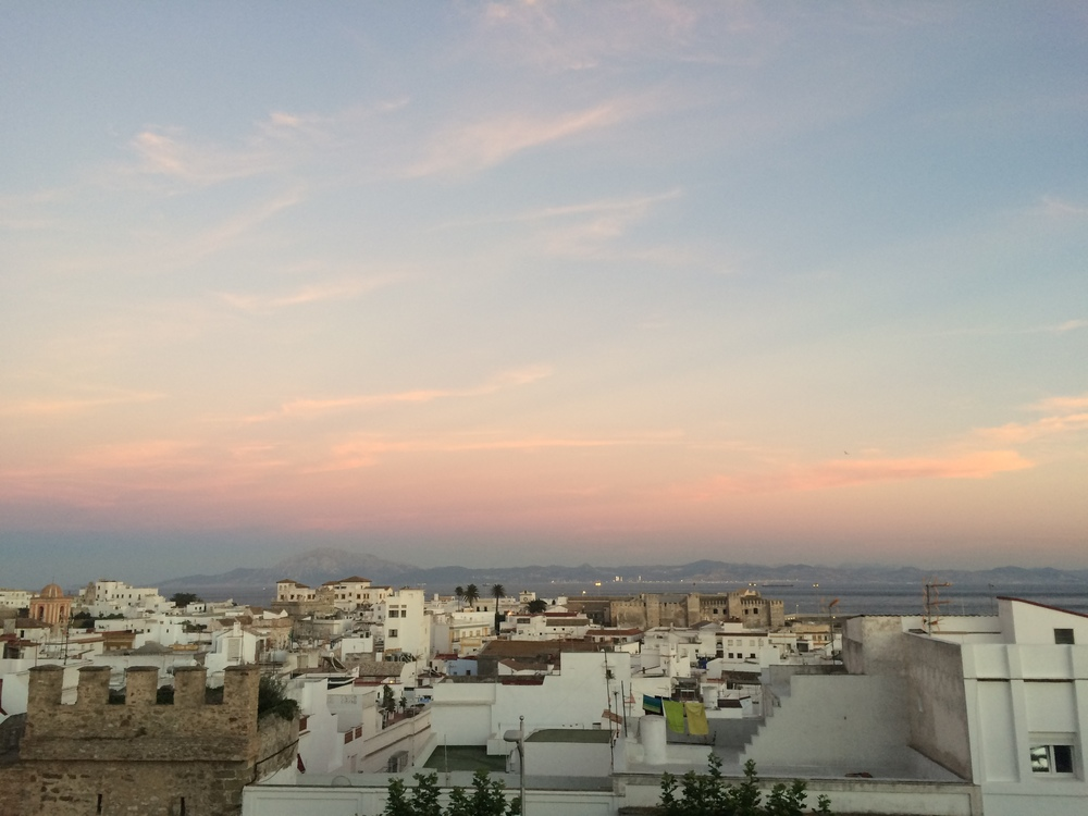 View from a friend's house in Tarifa
