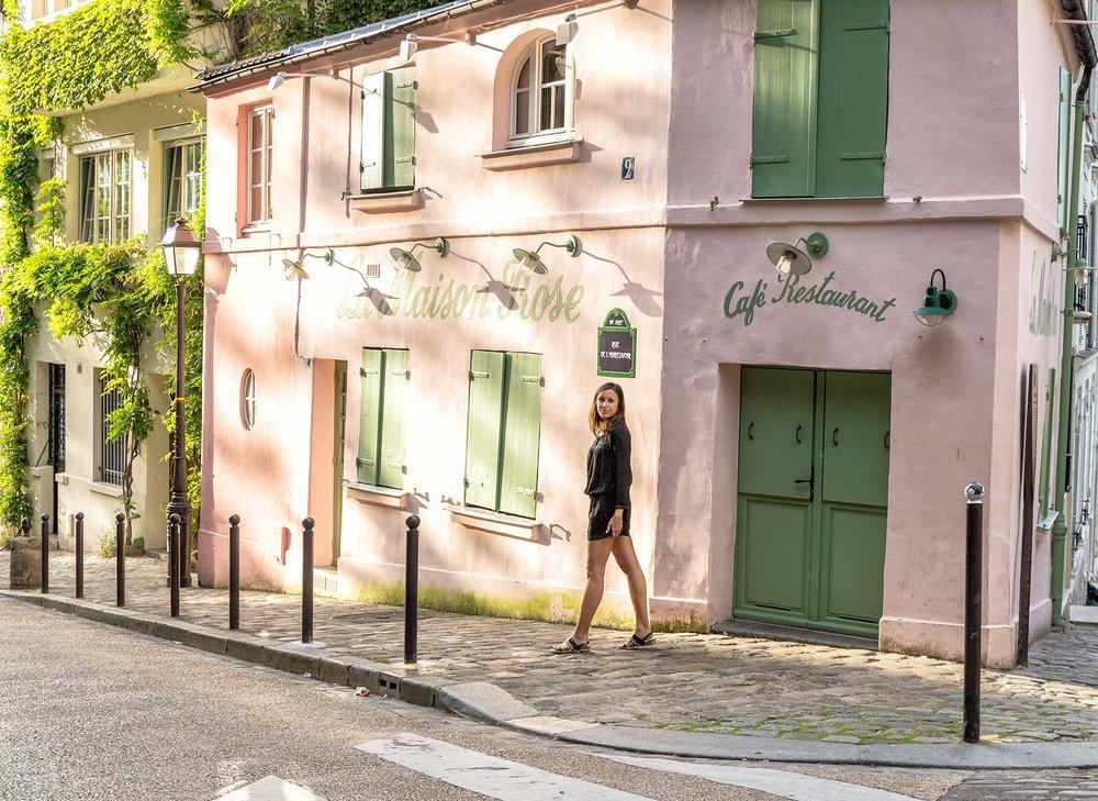 Paris-maison-rose