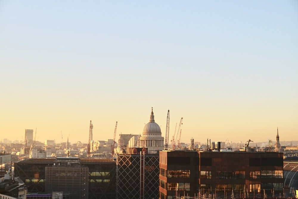 View over St Paul's Cathedral