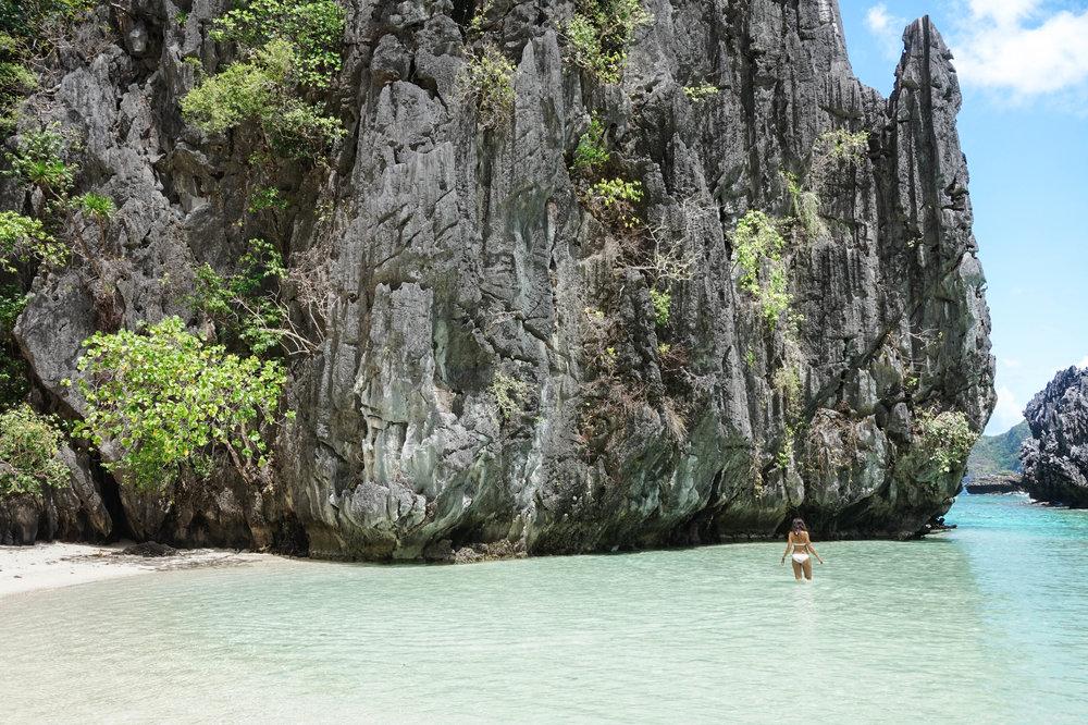 Philippines-Hidden Beach