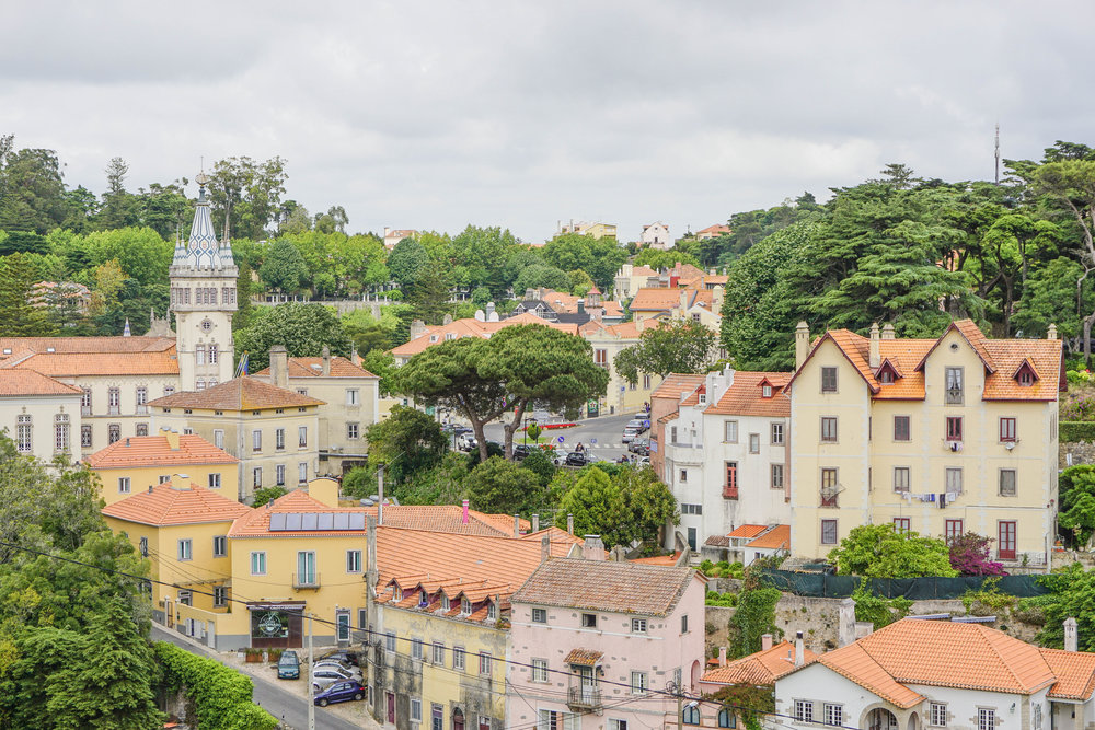 Sintra- old town