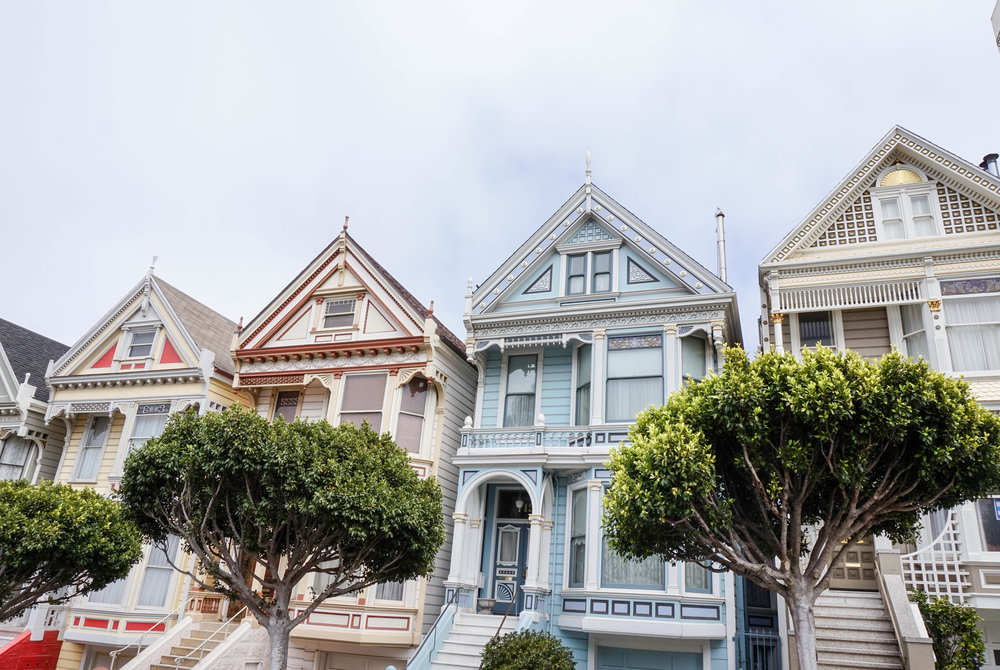 San-Francisco-Painted Ladies