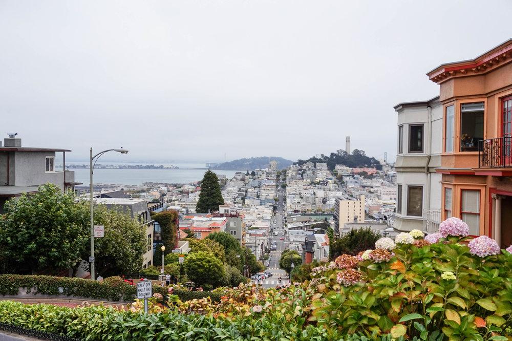 San-Francisco-Lombard Street