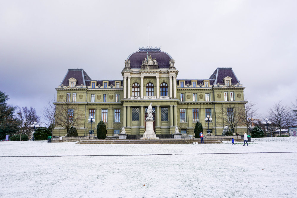 Lausanne-Esplanade de Montbenon