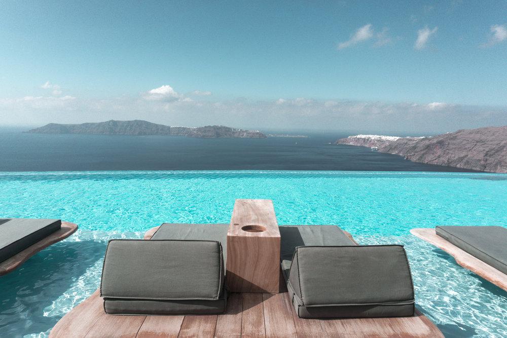 Santorini - Cavo Tagoo Hotel