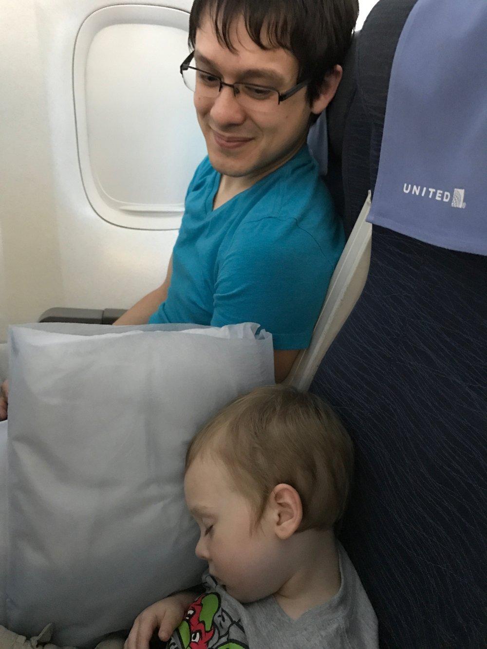 - Sleepy traveler.
