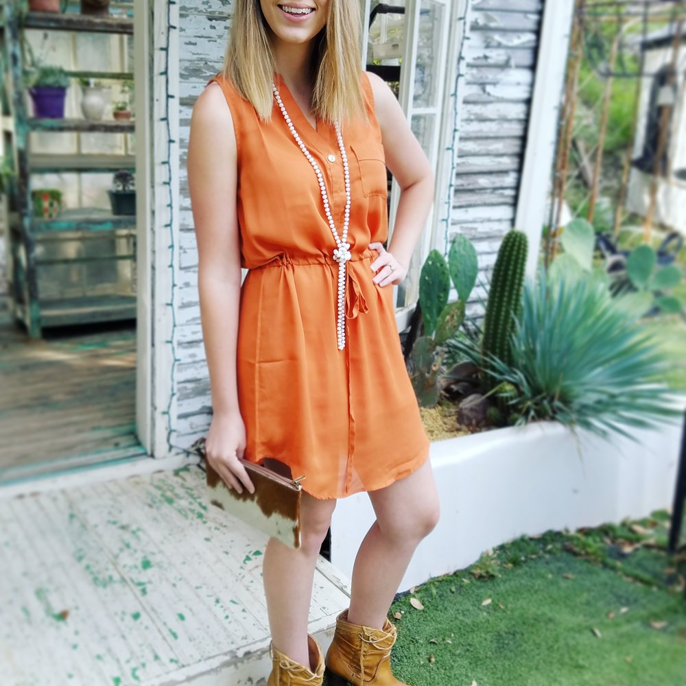texas longhorn gameday dress