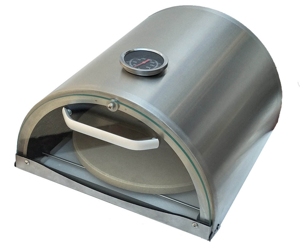 SIDE BURNER PIZZA OVEN