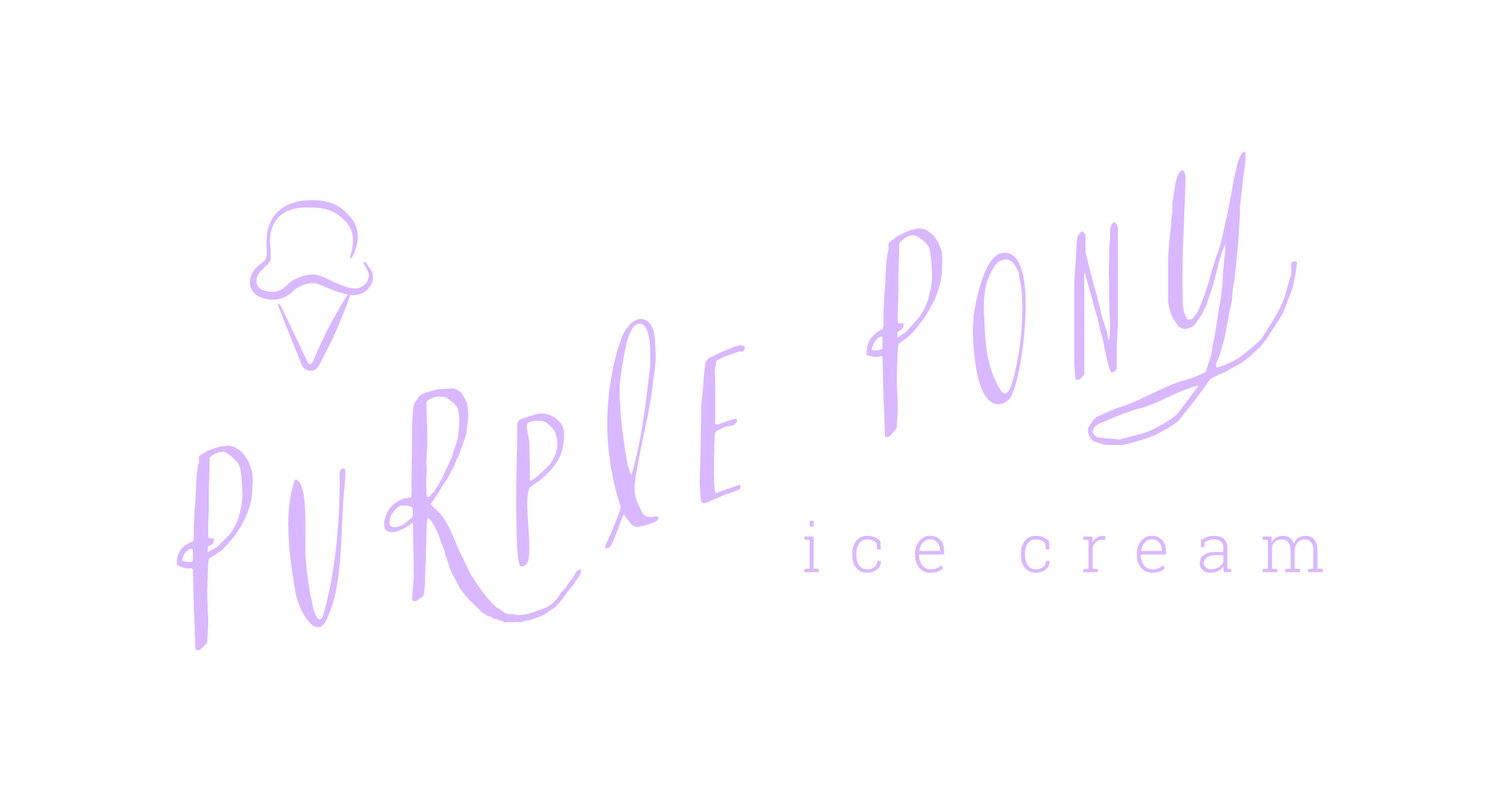 The Purple Pony Ice Cream Shop