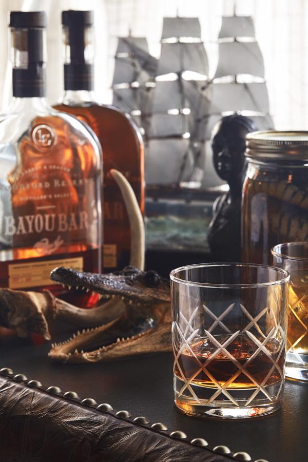 Whiskey at the Bayou Bar