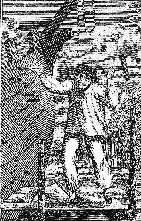 Edward Thomas (1834-1872) Shipwright at Royal Navy Dockyard - Pembroke Dock and Sheerness