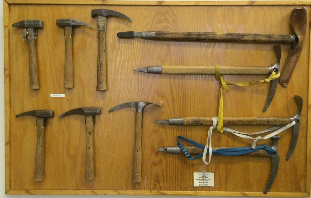 Historic Chouinard Ice Tools and Piolets
