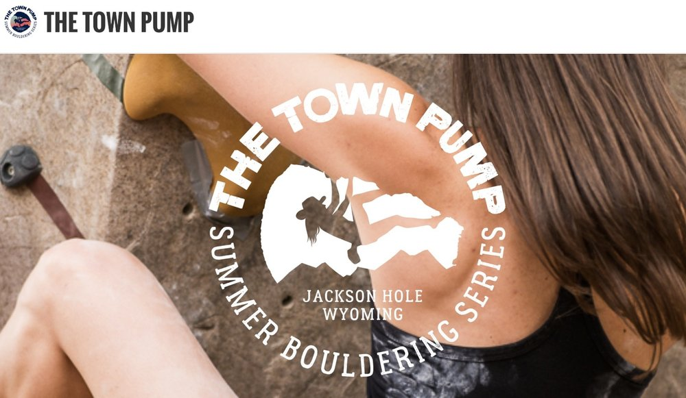 Register for The Town Pump Summer Bouldering Series HERE.