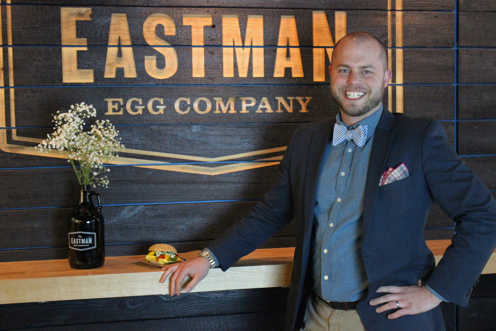 Located in Chicago's Downtown Loop, you can stop by Eastman Egg Company on 23 N Wacker Drive or hunt down their food truck by following them on Twitter @eastmanegg. They're there to make your weekdays memorable. They specialize in delicious, farm-fresh egg sandwiches and local craft coffee. Everything on their menu is made to order in under five minutes by people who care about your morning.
