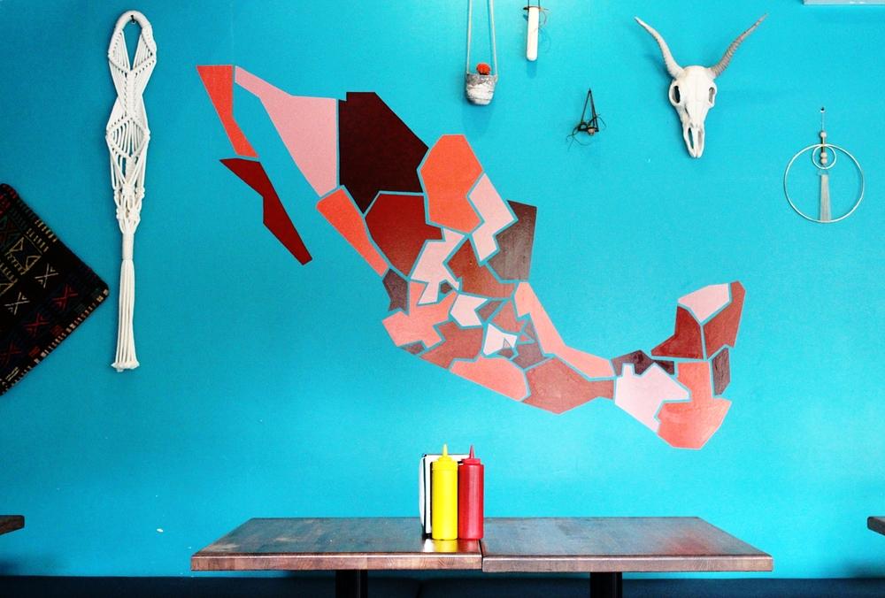 Mexico Map Mezcaleria Las Flores.JPG