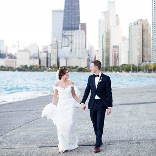 Renaissance Chicago Downtown Hotel Wedding