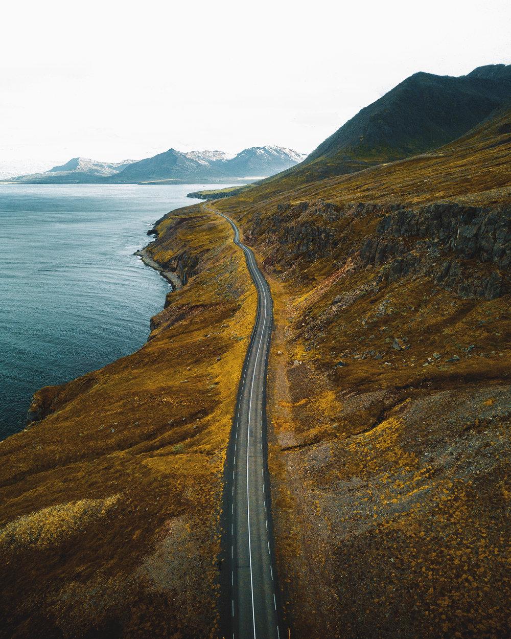 charlotte-little-wolf-Iceland-drone-road.jpg