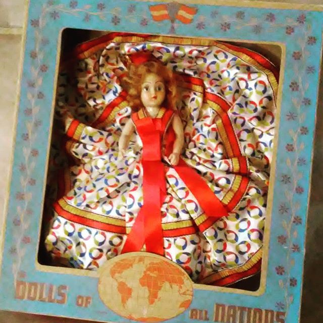 New Today at THISTLE - 7inch - Dolls of All Nations - Dutchess Dolls 1948 - 1950 #Doll #DutchessDolls #dollsofallnation. #KC_Thistle