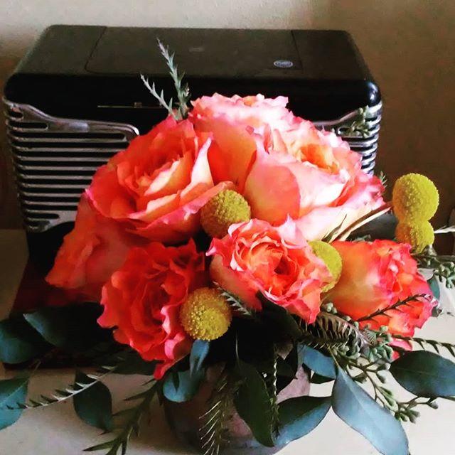 Birthday Flowers!  Thanks, Elise