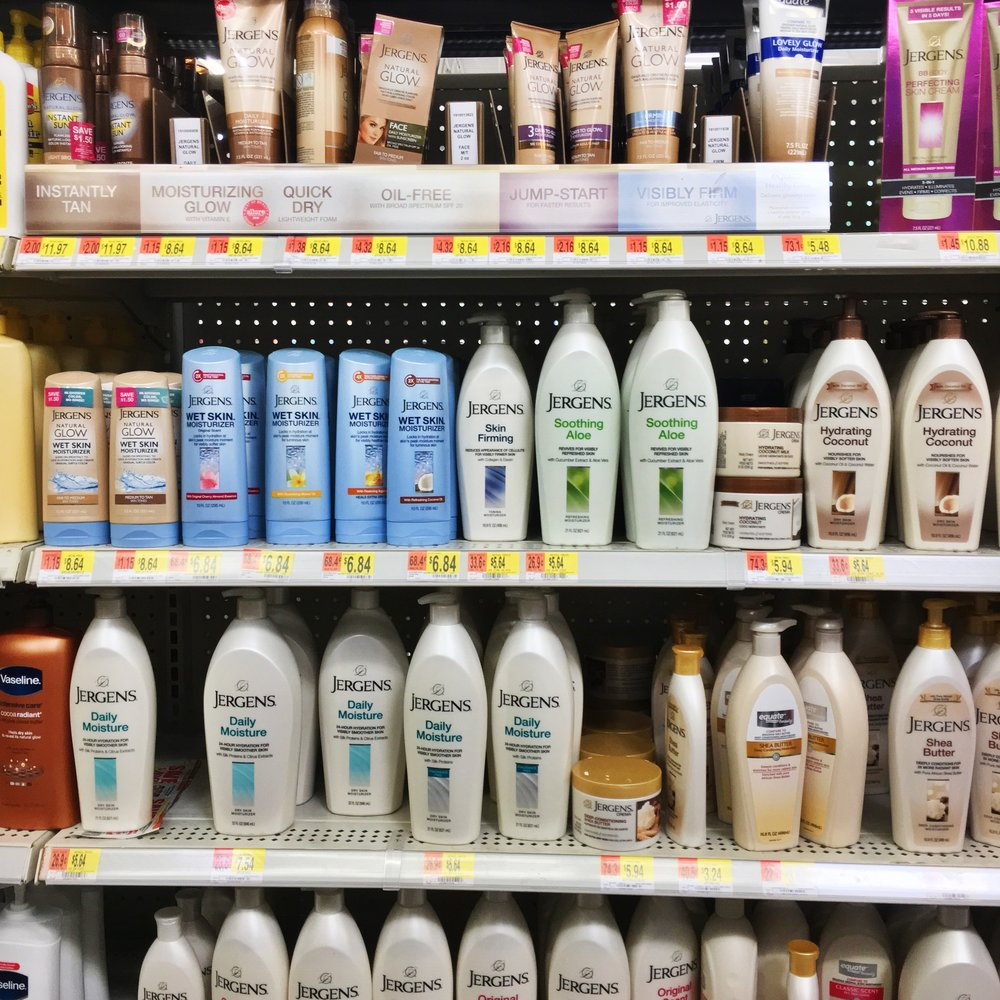 Jergens Natural Glow Wet Skin Moisturizer at Walmart 4.JPG