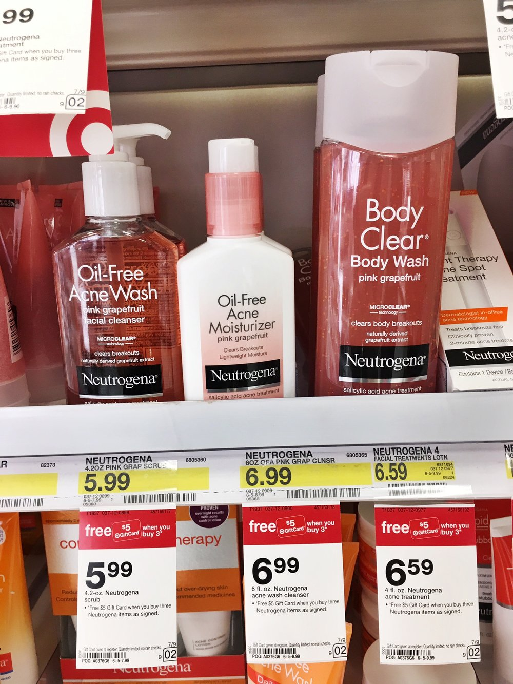 Back-to-College Looking &  Feeling Fabulous with Neutrogena and Clean & Clear at Target! (4).JPG