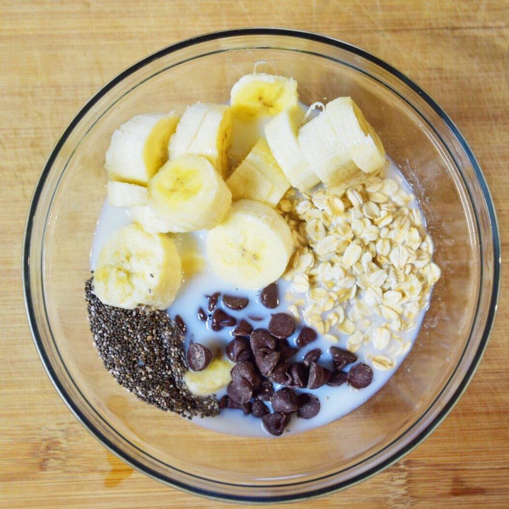 Chocolate Chip Banana Overnight Oats - Wander Dust Blog - Houston Lifestyle Blogger (11).JPG