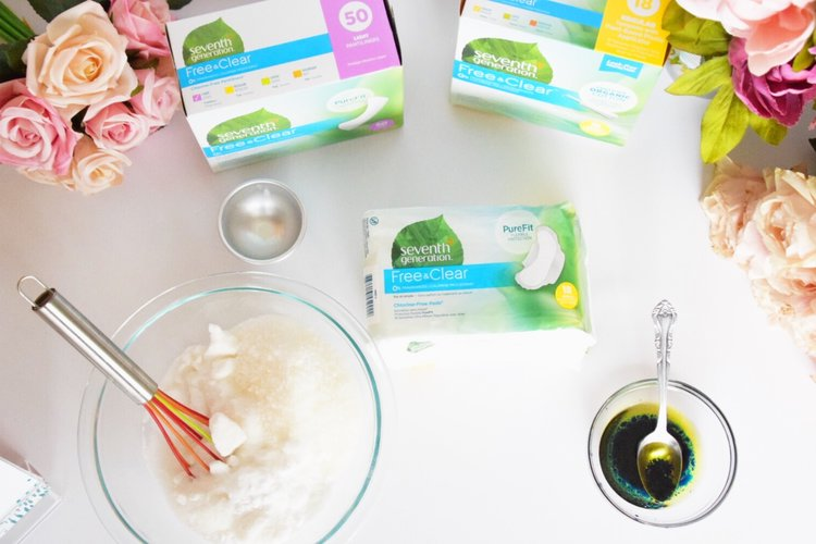 Houston Lifestyle Blogger  - Seventh Generation Feminie Care at Target - DIY Bath Bombs.jpg