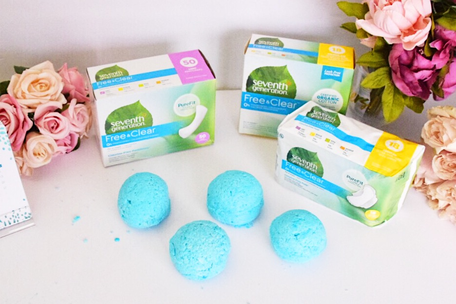 Houston Lifestyle Blogger  - Seventh Generation Feminie Care at Target - DIY Bath Bombs - Milso Blogger.jpg