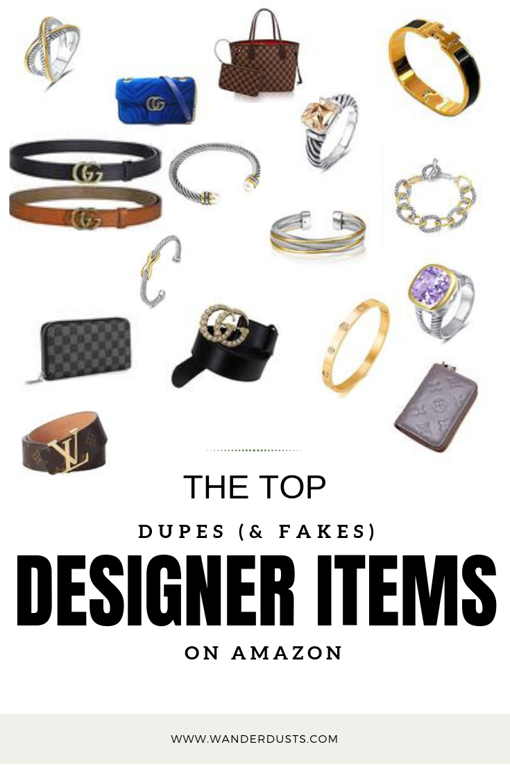 Top Fake and Dupes Designer Items - Where to buy designer fake items and Dupes - Review - Blogger Sarah J.png