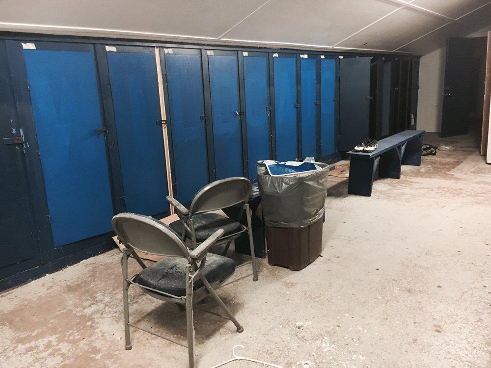 Locker Room: Work in progress...