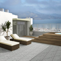 Furnished Roof Deck - View_Rendered2
