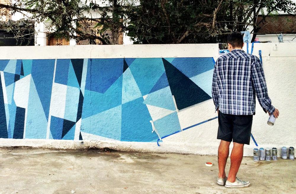 BlueBird Mural
