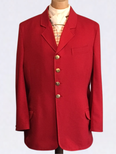 Traditional Style Hunting Jacket - Red