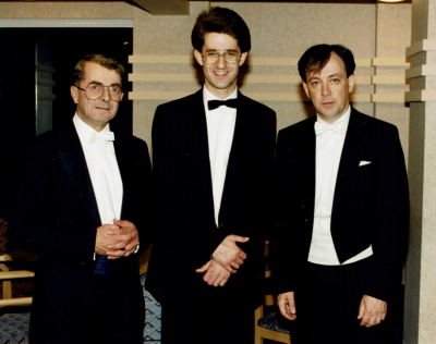 Barry Griffiths, Paul Sanders (LTO) and Jonathan Butcher, 1997