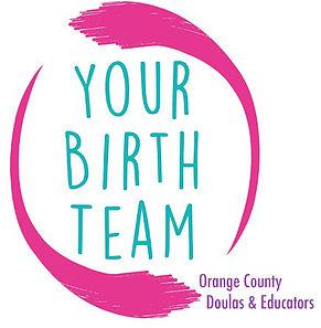 Orange County placenta encapsulation Your Birth Team logo