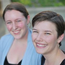 Anaheim birth doula Megan and Marlee