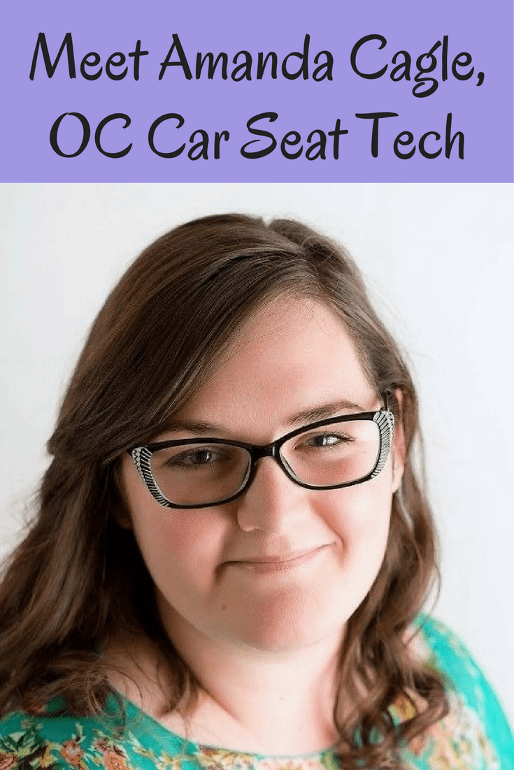 Orange County car seat tech Amanda Cagle