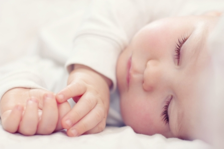 San Juan Capistrano doula sleeping baby