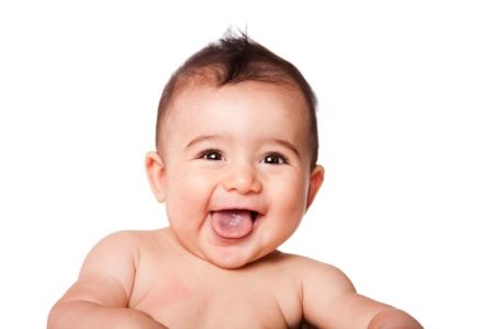 Orange County doula happy baby