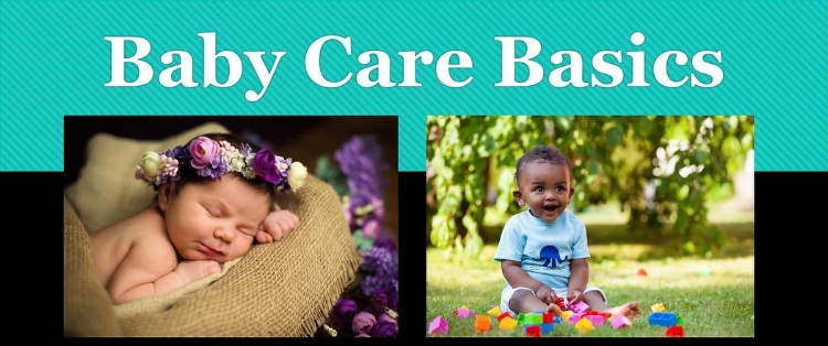 Baby Care Basics class first slide new baby help Irvine